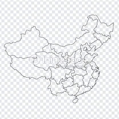 Blank Map Of China Provinces.Blank Map China Map Of China With The Provinces High Quality Map Of