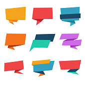 Speech bubble for sale, discount and offer banner