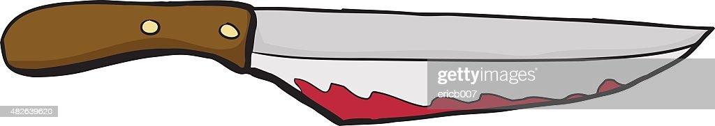 bloody carving knife vector art thinkstock rh thinkstockphotos com School Clip Art Knife in Blsck Snd White