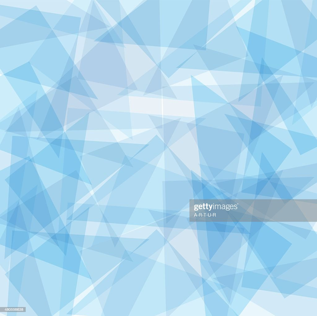 Blue abstract vector background for design : Vector Art