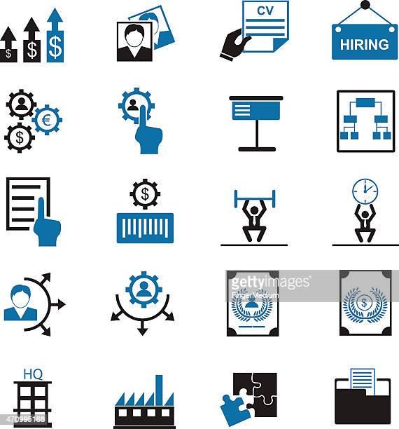 Human Ressource Management-Symbole