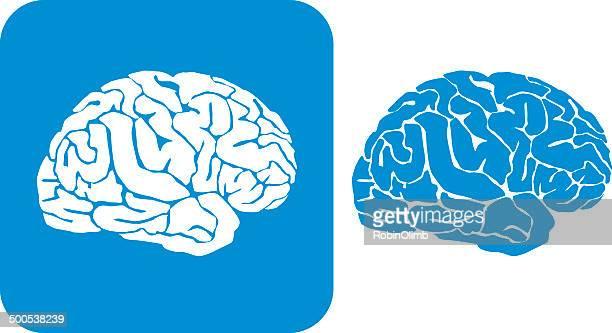 Blue Brain Icons