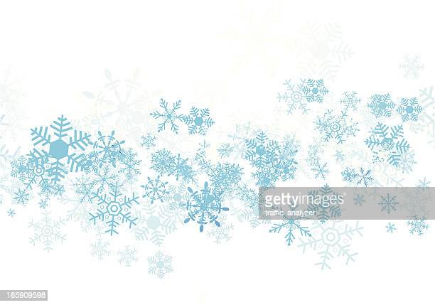 Blaue Weihnachten Hintergrund