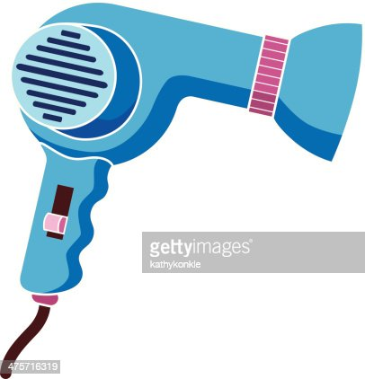 Hair Dryer Stock Illustrations And Cartoons