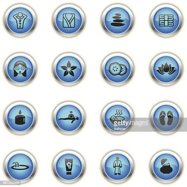 Blue Icons - Spa & Wellness