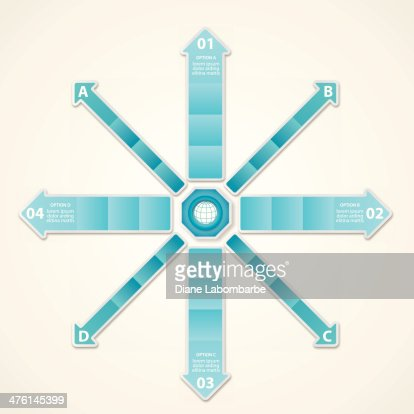 Infographic Option Tabs Vector Art | Getty Images