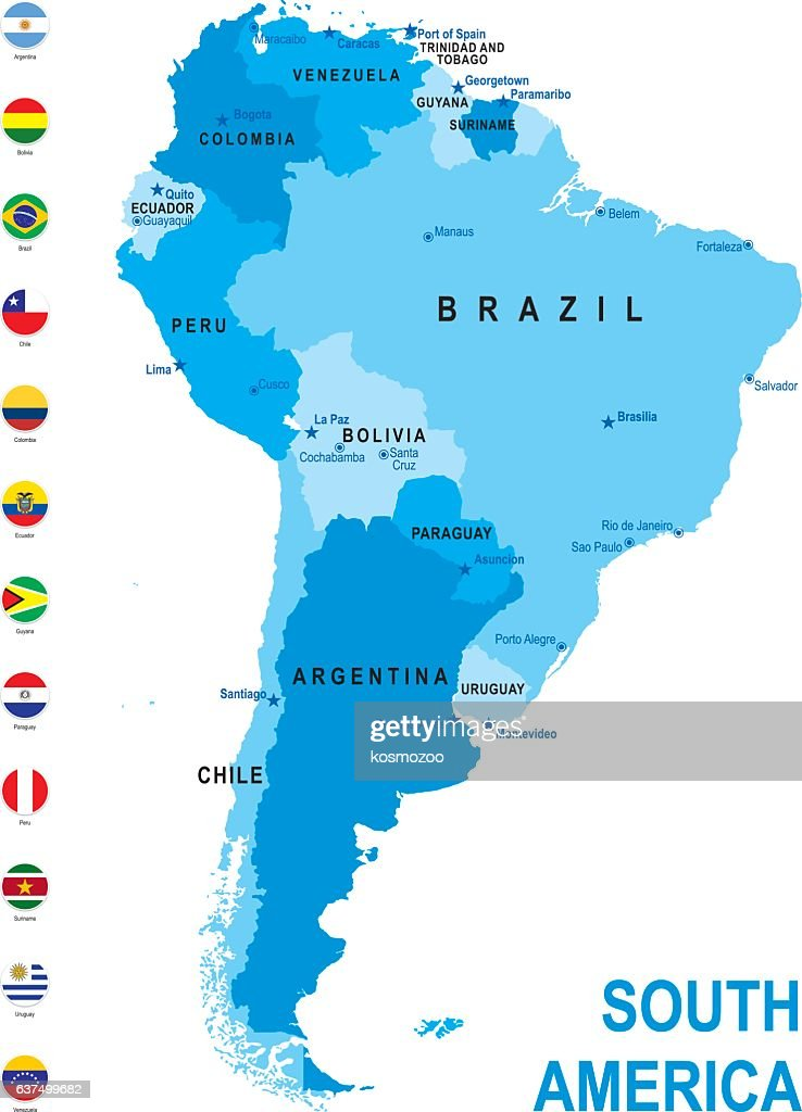 Highly Detailed Handdrawn Map Of Colombia Within The Outline Of - Colombia map south america