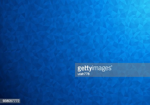Blue polygonal background : stock vector