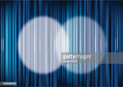 Curtains Ideas blue stage curtains : Blue Stage Curtain Vector Art | Getty Images