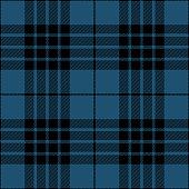 Blue and black seamless traditional tartan plaid pattern design.