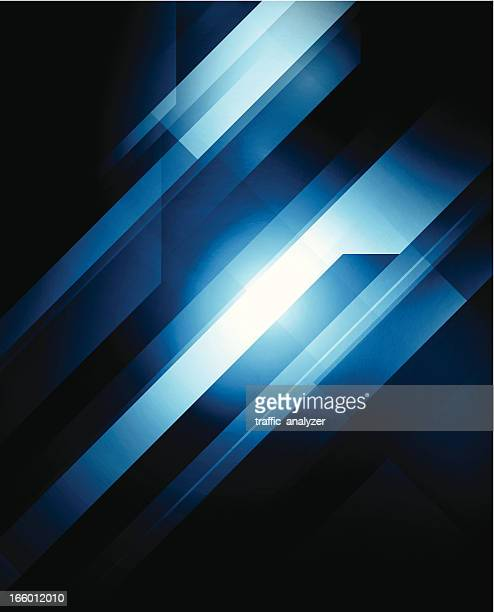 Blue technical background