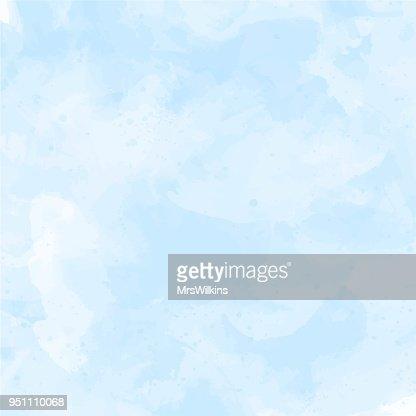 Blue, violet watercolor background vector : stock vector
