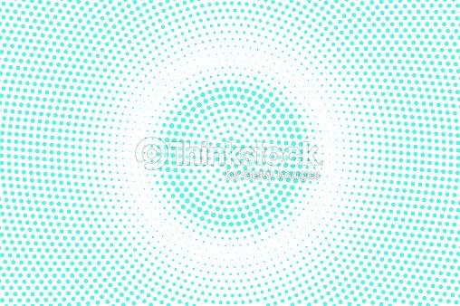 Azul Blanco Punteado Trama De Semitonos Fondo De Vector De Tono