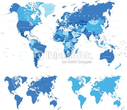 Blue world map borders countries and cities illustration vector art blue world map borders countries and cities illustration vector art gumiabroncs Choice Image