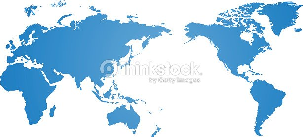 Blue world map vector over a white background vector art thinkstock blue world map vector over a white background vector art gumiabroncs Gallery