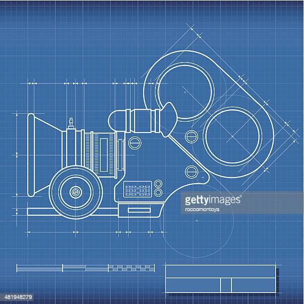 Blueprint Camera Film