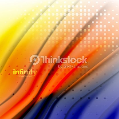 Blurred Mixing Liquid Flowing Colors Abstract Background Web