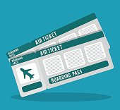 boarding pass icon image vector illustration design
