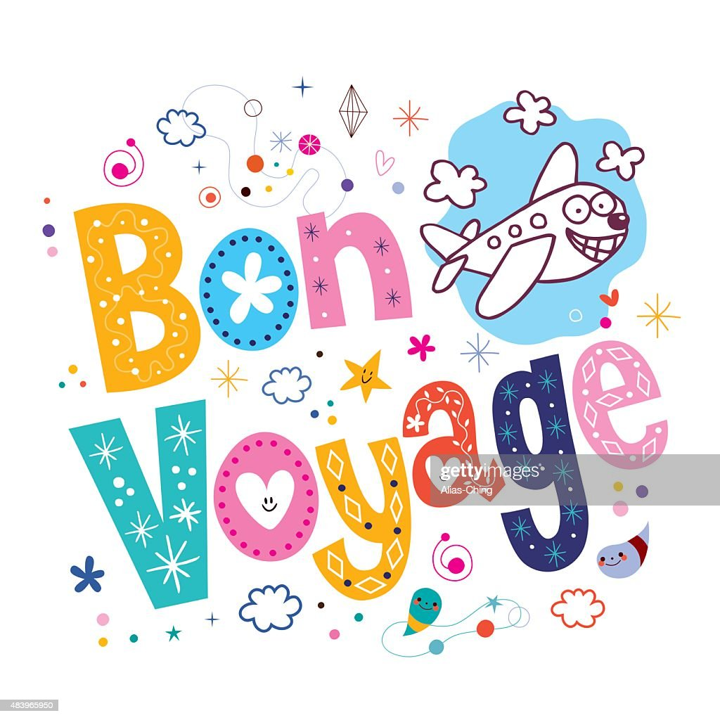 bon voyage vector art thinkstock rh thinkstockphotos com bon voyage clipart free bon voyage images clipart