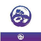 Bonsai vector icon,