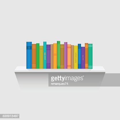 Reserve estante ilustración : Arte vectorial