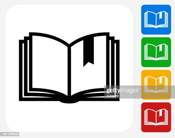 Bookmark Icon Flat Graphic Design