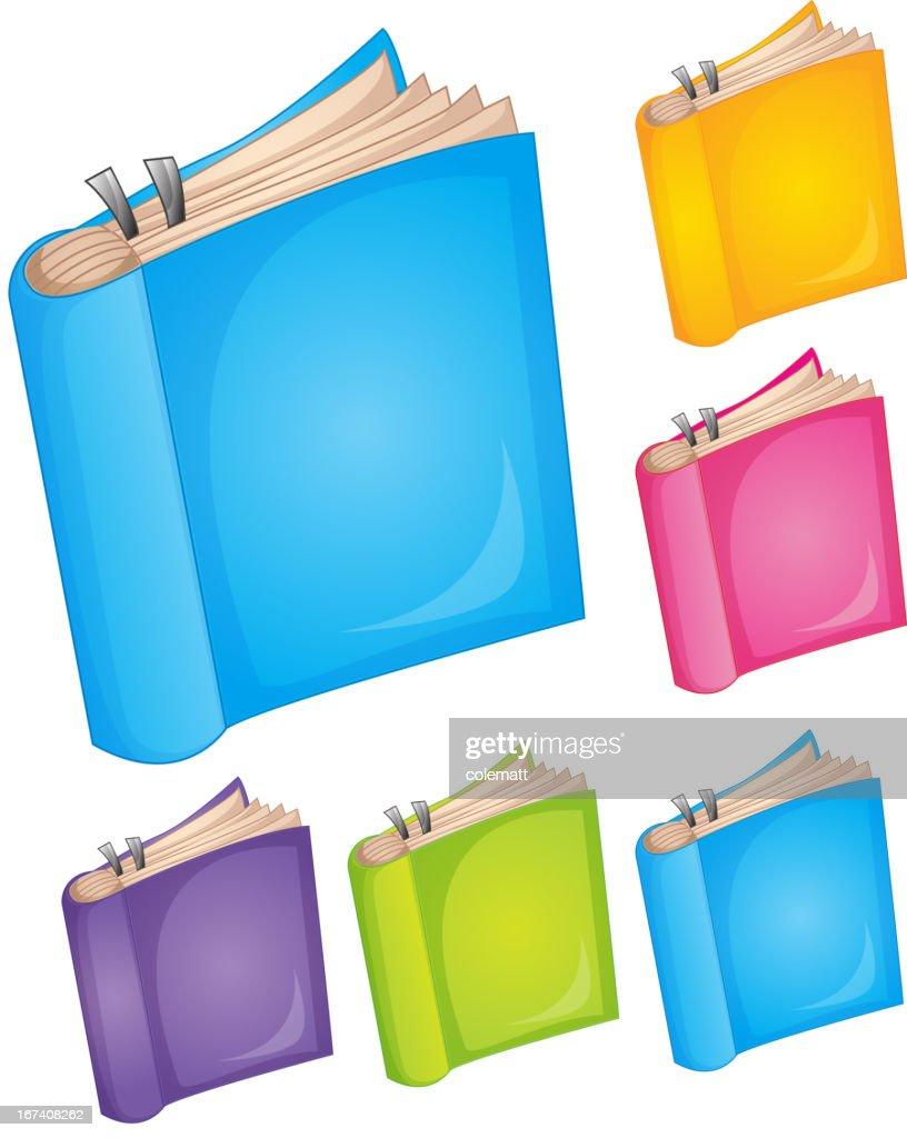 Books : Vector Art