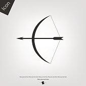 Bow vector icon