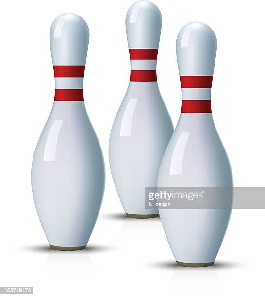 Bowling Pin Stock Illustrations And Cartoons Getty Images