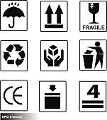 box sign warning icon