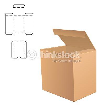 Box Template Vector Art
