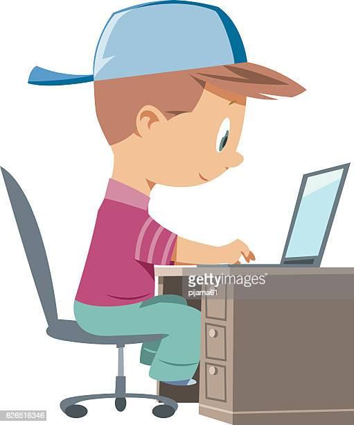 Bambino e computer