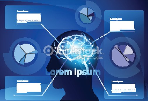 Brain neurons activity medicine thinking intelligence concept brain neurons activity medicine thinking intelligence concept infographics banner with copy space vector art ccuart Image collections