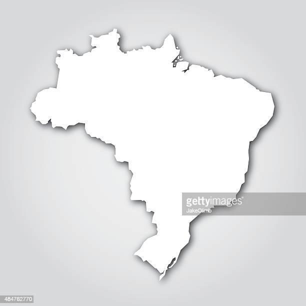 Brasilien Silhouette Weiß