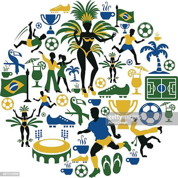 Brasilianische Collage