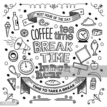 how to say break time in french