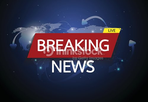 Breaking news live on world map connection background business breaking news live on world map connection background business technology concept vector illustration gumiabroncs Images