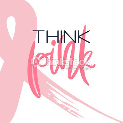 Breast Cancer Awareness Month Conceptual Poster Vector Art Thinkstock