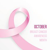 breast cancer awareness ribbon stock photos and illustrations