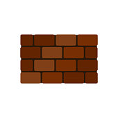 Bricks icon. vector illustration