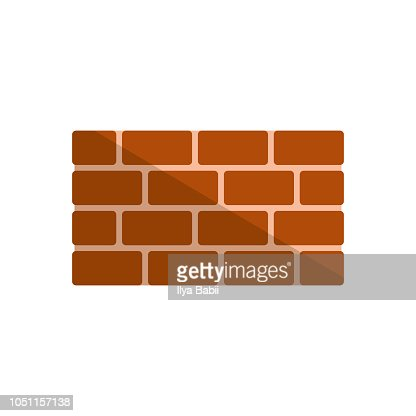 Bricks icon. vector illustration : stock vector