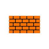 bricks icon. vector