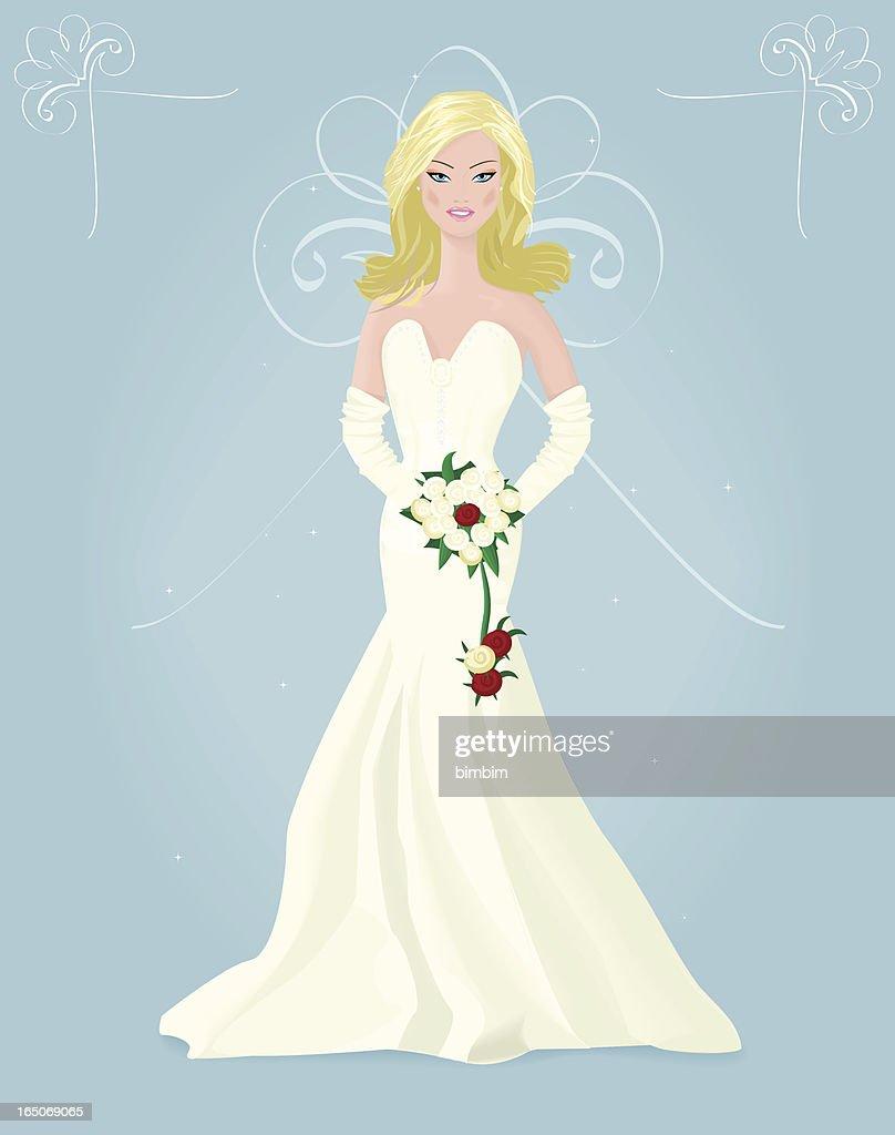 Bride : Vector Art
