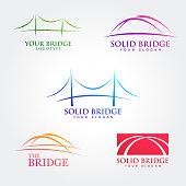 an amazing design of Bridges illustration symbol collections