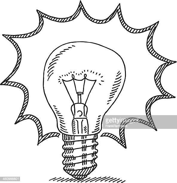 illustrations et dessins anim s de ampoule lectrique. Black Bedroom Furniture Sets. Home Design Ideas