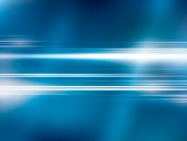 Bright lights on blue abstract background vector with stripes shapes
