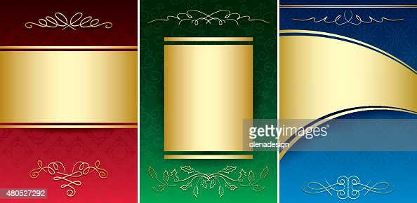 bright vintage backgrounds with gold decorative ornament - vector : Vector Art