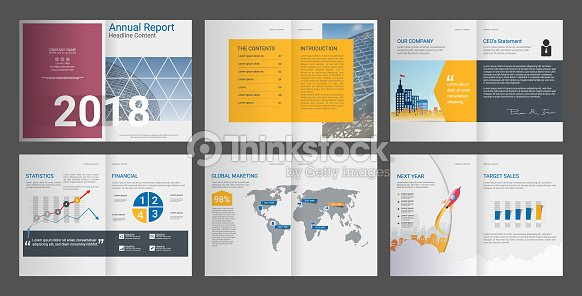 Brochure Annual Report Company Profile Is Clean Professional Create ...