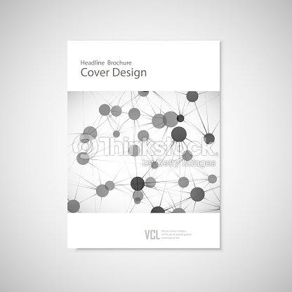 Broschüre Cover Vorlage Für Connect Netzwerk Gesundheitswesen ...