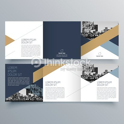Brochure Design Brochure Template Creative Trifold Trend Brochure